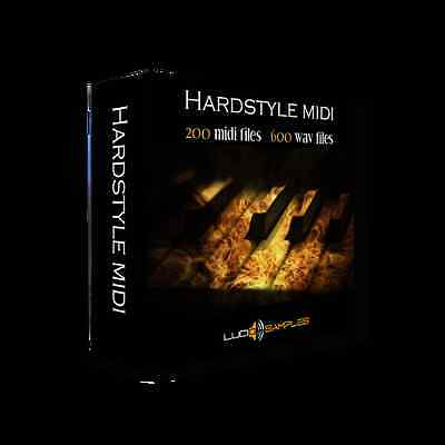 Hardstyle Midi (Remastered Version) Apple Loops/AIFF - Download or CD