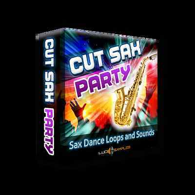 Cut Sax Party - 256 loops with cut sounds of saxophone - Download or CD