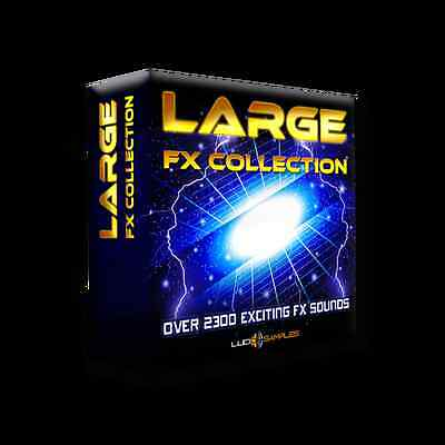 Large FX Collection WAV Files - Fantastic Fx Sounds Library - Download or CD