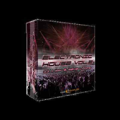 Electronic House Vol. 2 - 162 MB of House/ Electronic Loops - Download or CD