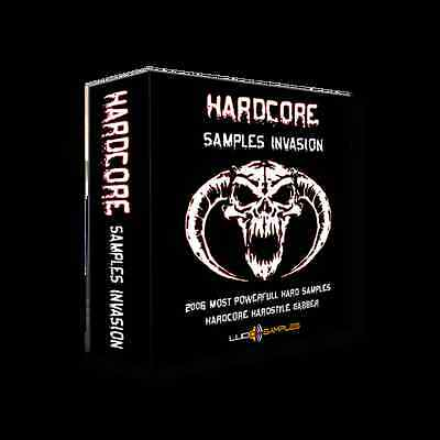 Hardcore Samples Invasion Apple Loops/ AIFF - Download or CD