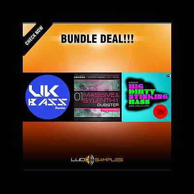Massive Dubstep Bundle (3 in 1 - 30% OFF!) -NI Massive patches for dubstep music