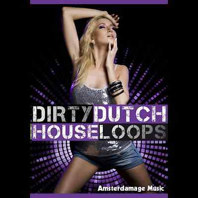Dirty Dutch House Loops -Hard edge Afro/Latin House loops - Download or CD