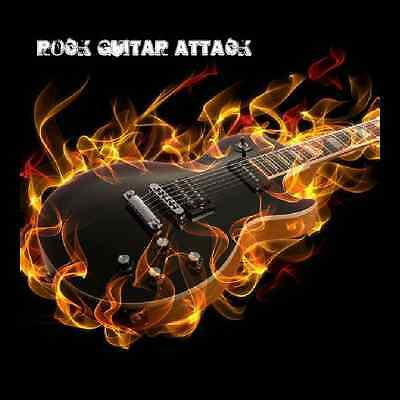 Rock Guitar Attack -heavy metal inspired guitar riffs: drum loops and bass parts