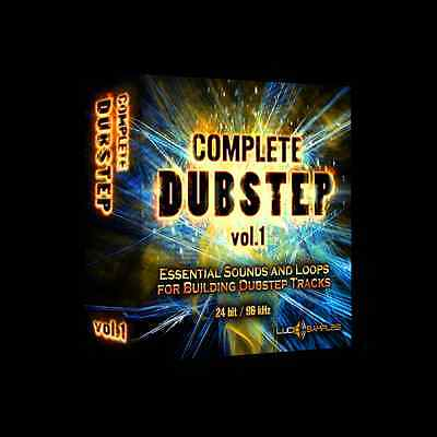 Complete Dubstep Vol. 1 - collection for making dubstep music DJ -Download or CD