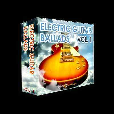 Electric Guitar Ballads Vol. 1 -collection of ready to use electric guitar licks
