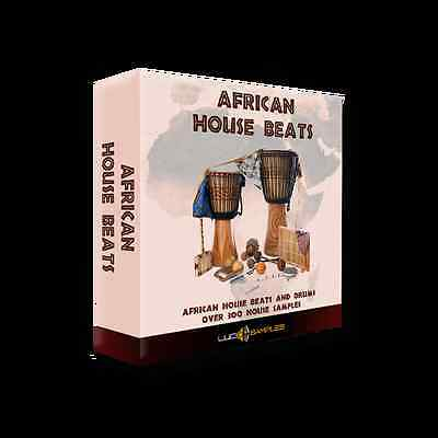 African House Beats Apple Loops/ AIFF - Download or CD