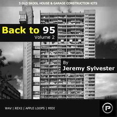 Back to 95 Vol. 2 - early USA & UK underground House & Garage - Download or CD