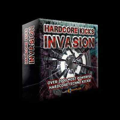 Hardcore Kicks Invasion AIFF + Soundfonts - absolutely the largest sample pack