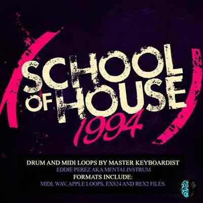 School of House 1994 - features classic NY/NJ Underground House Grooves Samples