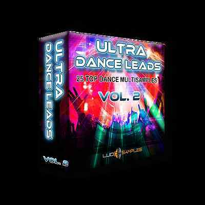 Ultra Dance Leads Vol. 2 EXS24 - variety of fantasy instruments - Download or CD
