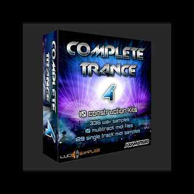 Complete Trance Vol. 4 - 10 Advanced Trance Construction Kits - Download or CD