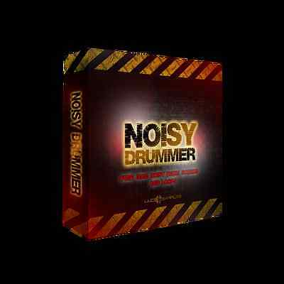 Noisy Drummer - This gigantic collection of noisy and crushing drum samples DJ
