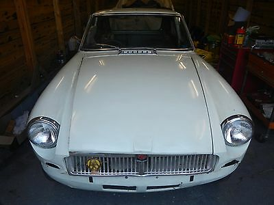 MGB GT 1969 Chrome Bumper Project *Listing revised*