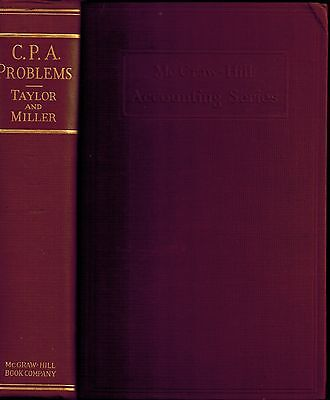 1930 Accounting Reference CPA Problems Questions Professional Finances Economy