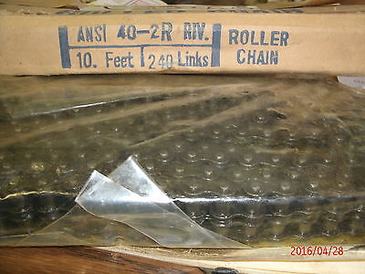 double # 40 roller chain