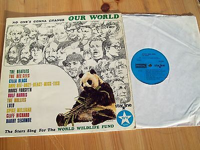 No One`s Gonna Change Our World.lp. (Starline Srs 5013)(Beatles Across Universe)
