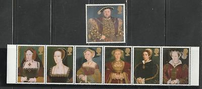 Kappysstamps S1968 Great Britain Sg #1965 - 1971 Mint Never Hinged
