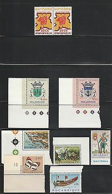 Kappysstamps X21 Lot Of Mint Mozambique / Suriname