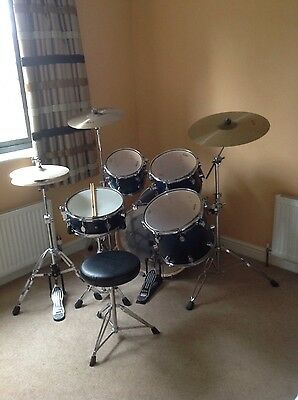 Drum kit by PDP with TRX cymbals
