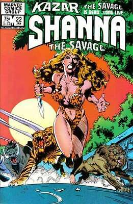 Ka-Zar the Savage #22 in Near Mint condition. FREE bag/board