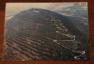 Mount Tabor Israel Chrome 1970's Postcard Unposted
