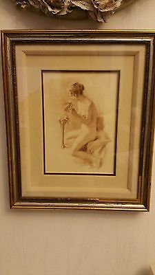 Amorsoti lithograph picture nude