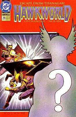 Hawkworld (1990 series) #25 in Near Mint + condition. FREE bag/board