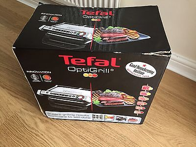 Tefal OptiGrill Healthy Grill Stainless Steel