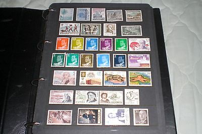 Spain Stamps-Various A Total Of 33 Stamps Mint Not Hinged