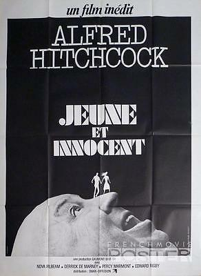 Young And Innocent - Hitchcock - Reissue Large French Movie Poster