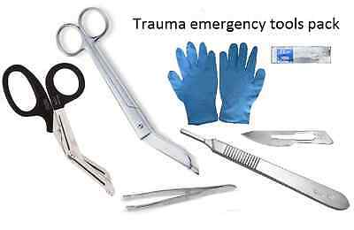 First aid- Trauma Pack- Tools for Emergency Services