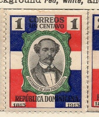 Dominican Republic 1914 Early Issue Fine Mint Hinged 1c. 121870