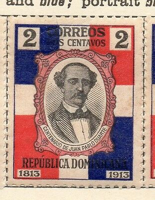 Dominican Republic 1914 Early Issue Fine Mint Hinged 2c. 121871