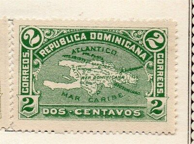 Dominican Republic 1900 Early Issue Fine Mint Hinged 2c. 121885