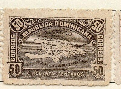 Dominican Republic 1900 Early Issue Fine Mint Hinged 50c. 121889