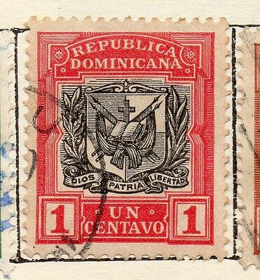 Dominican Republic 1906 Early Issue Fine Used 1c. 121923
