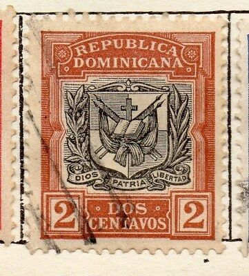 Dominican Republic 1906 Early Issue Fine Used 2c. 121924