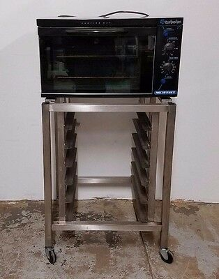 Moffat E25 Half Pan Electric Turbofan Convection Oven With Stand - Nice - Clean