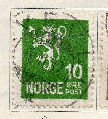 Norway 1926-28 Early Issue Fine Used 10ore. 121975
