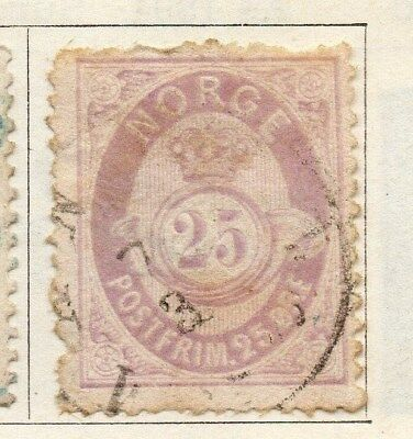 Norway 1883 Early Issue Fine Used 25ore. 121999