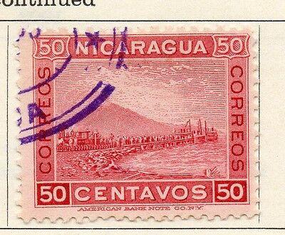 Nicaragua 1900 Early Issue Fine Used 50c. 122055