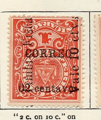 Nicaragua 1911 Early Issue Fine Mint Hinged 2c. Surcharged Optd 122143