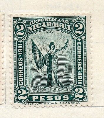 Nicaragua 1912 Early Issue Fine Mint Hinged 2P. 122163