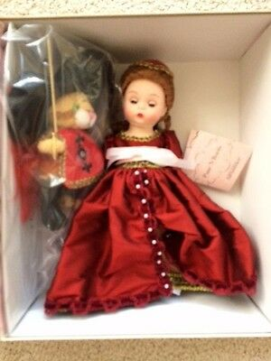 """Madame Alexander Doll 46490 Puss in N' Boots 8"""" NRFB RARE Retired 2007"""