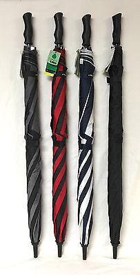 Raines by Totes Automatic Golf Size Extra Large Coverage Umbrella - 4 colors