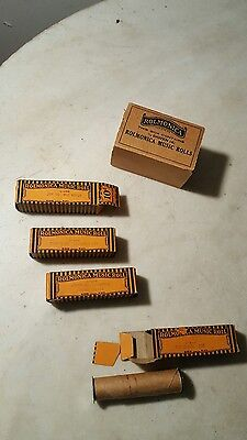 1928 Rolmonica Roll Boxes Old Black Joe