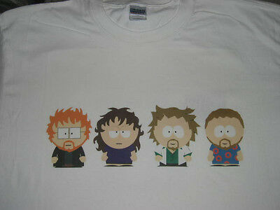 Phish as South Park T-SHIRT Trey Mike Page Jon MUST SEE