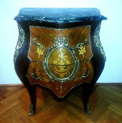 ANTIQUE FRENCH STYLE VINTAGE SIDEBOARD CABINET . Free delivery to Sydney.