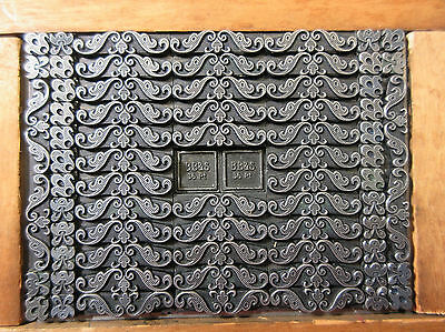 Letterpress Lead Type 18 Pt. Decorative Border  ATF   X76